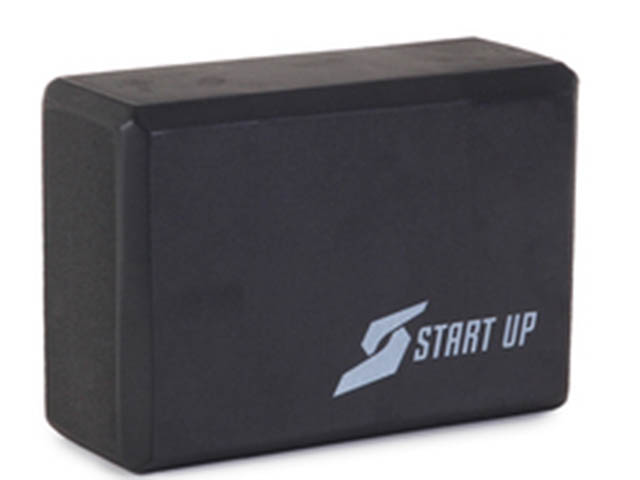 Блок для йоги Start Up EG01 Black 361220