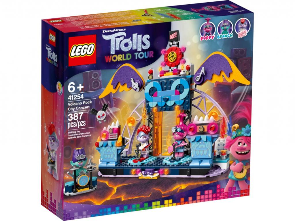 Конструктор Lego Trolls Концерт в городе Рок-на-Вулкане 387 дет. 41254