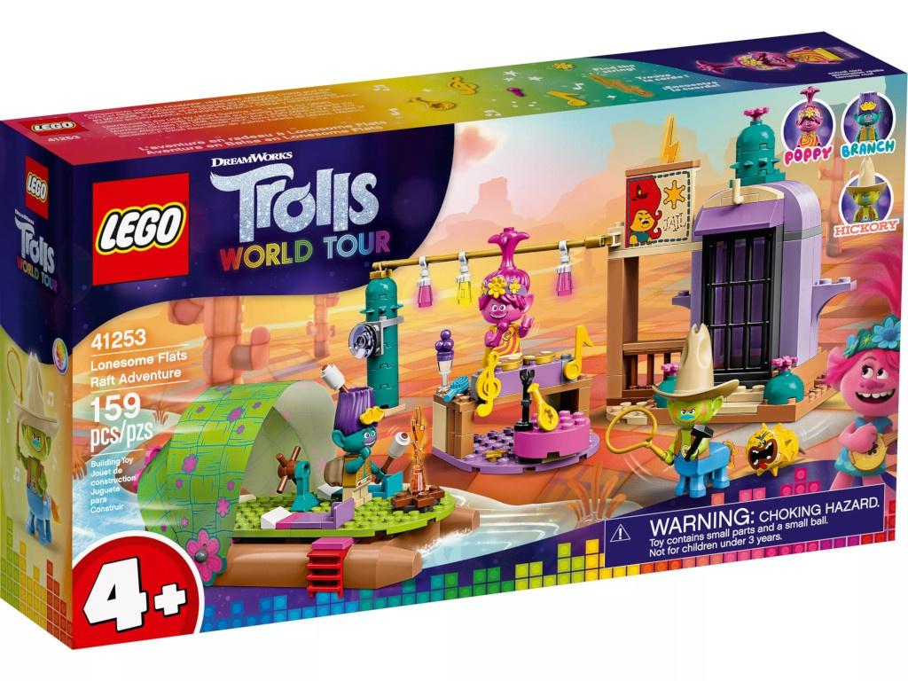 Конструктор Lego Trolls Приключение на плоту в Кантри-тауне 159 дет. 41253