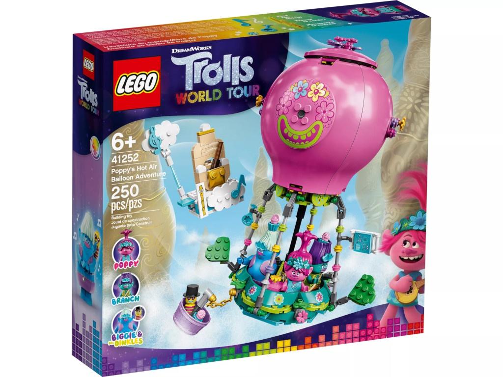 Конструктор Lego Trolls Путешествие Розочки на воздушном шаре 250 дет. 41252