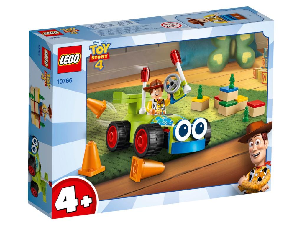 конструктор lego история игрушек 4 весёлый отпуск 10769 Конструктор Lego Juniors История игрушек-4 Вуди на машине 69 дет. 10766