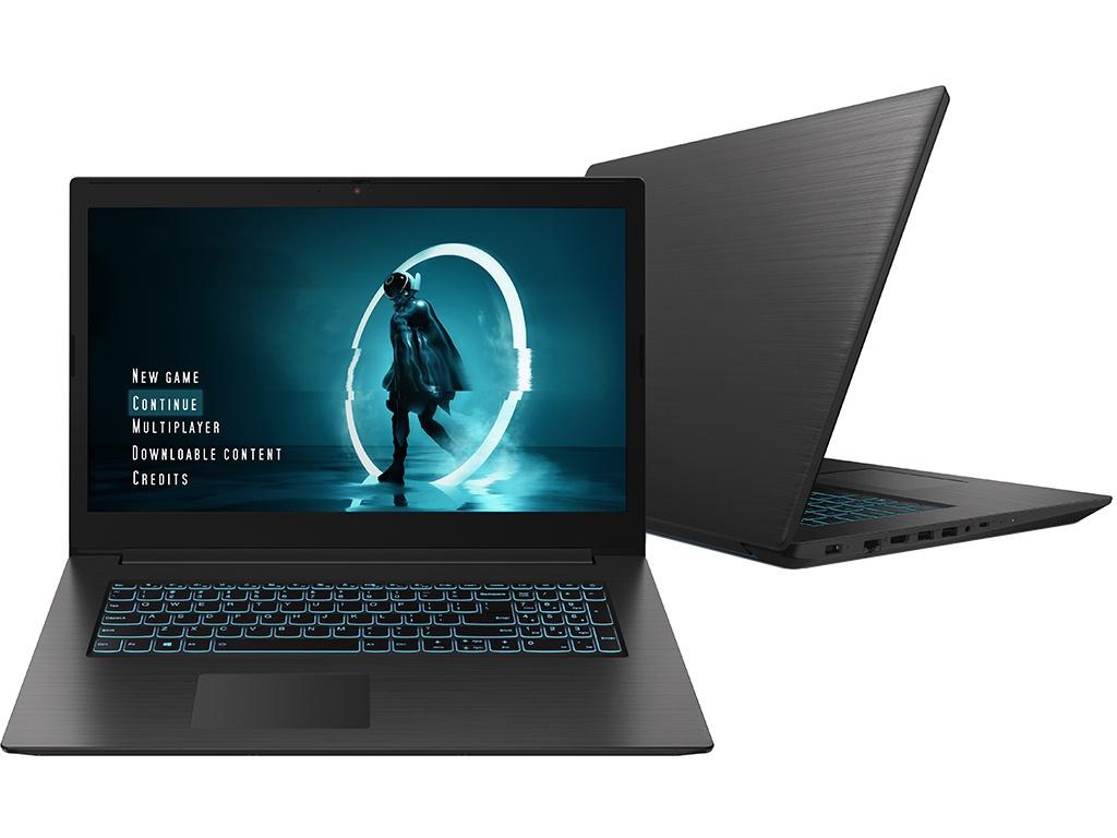 Ноутбук Lenovo IdeaPad L340-17IRH Black 81LL003TRK Выгодный набор + серт. 200Р!!!(Intel Core i7-9750H 2.6 GHz/8192Mb/1000Gb + 128Gb SSD/nVidia GeForce GTX 1650 4096Mb/Wi-Fi/Bluetooth/Cam/17.3/1920x1080/DOS) ноутбук lenovo ideapad 320 15isk 80xh01cmrk выгодный набор серт 200р intel core i3 6006u 2 0 ghz 8192mb 1000gb intel hd graphics wi fi bluetooth cam 15 6 1920x1080 dos