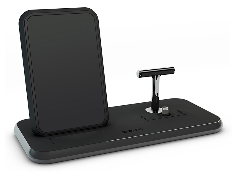 Зарядное устройство Zens Stand+Dock ZEDC06 Black