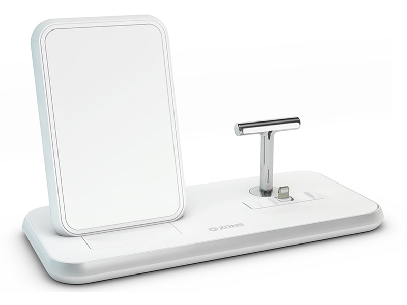 Зарядное устройство Zens Stand+Dock ZEDC06 White ZEDC06W/00