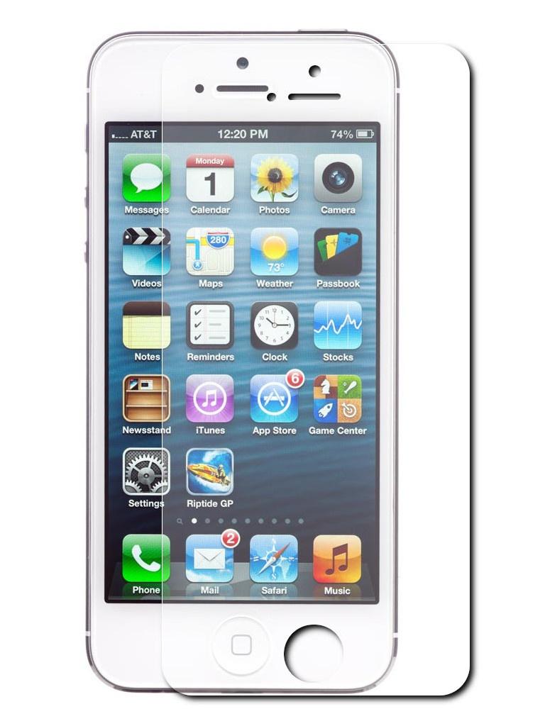 Защитный экран Red Line для APPLE iPhone 5/5C/5S/SE Tempered Glass УТ000004780 цена 2017