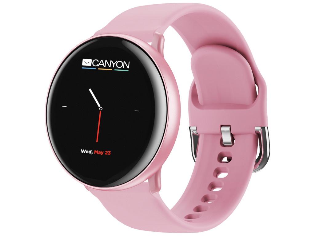 Умные часы Canyon Marzipan Pink CNS-SW75PP