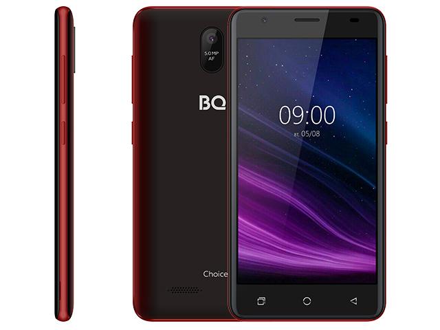 Сотовый телефон BQ 5016G Choice Wine Red