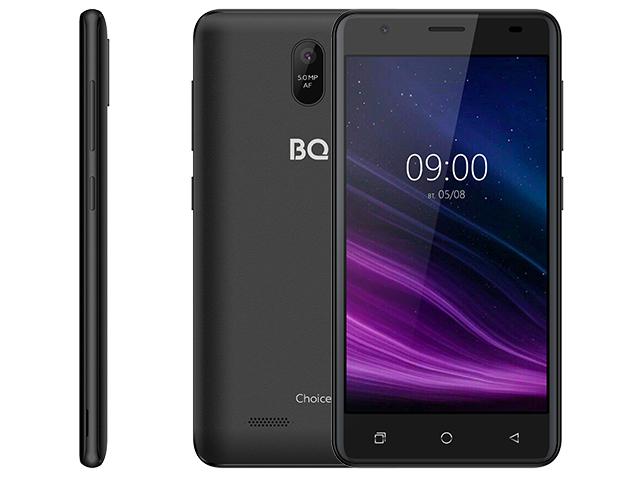 Сотовый телефон BQ 5016G Choice Black Graphite