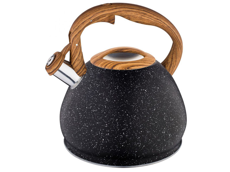 Чайник Agness 3L 937-811 чайник agness горошек со свистком 937 801 белый 3 л