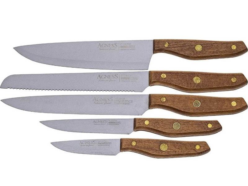 Набор ножей Agness 911-653