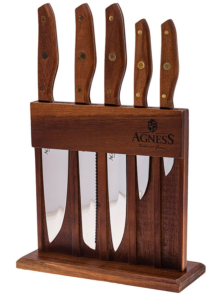 Набор ножей Agness 911-652