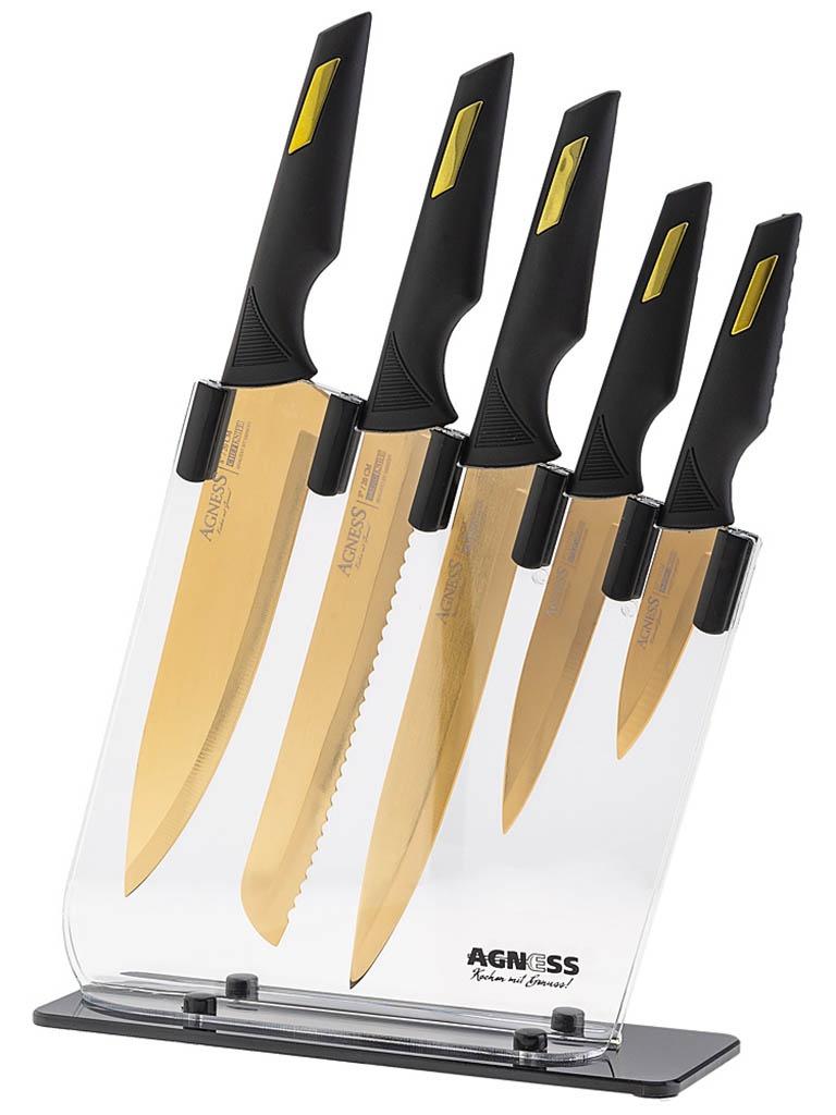 Набор ножей Agness 911-620