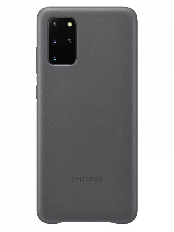 Чехол для Samsung Galaxy S20+ Leather Cover Grey EF-VG985LJEGRU чехол для сотового телефона samsung galaxy note 8 clear cover violet ef qn950cvegru
