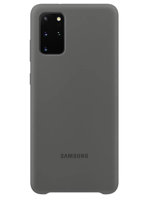 Чехол для Samsung Galaxy S20+ Silicone Cover Grey EF-PG985TJEGRU