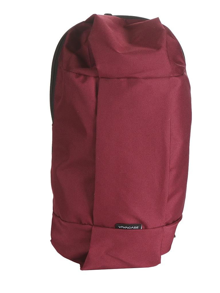 Рюкзак Vivacase Pentathlon Bordo VCT-BPTN01-brd рюкзак gironacci 1272 nero fard bordo