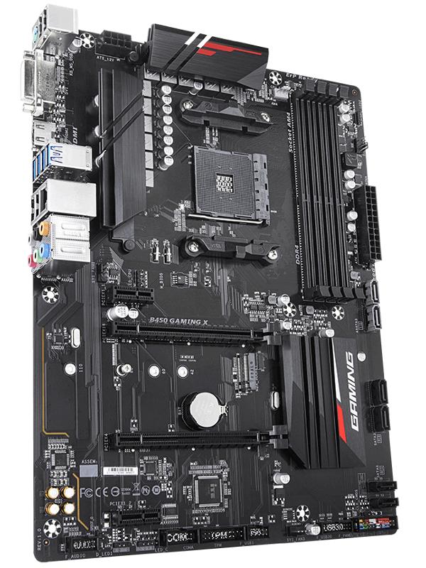 Фото - Материнская плата GigaByte B450 Gaming X Выгодный набор + серт. 200Р!!! материнская плата asus rog strix b450 f gaming выгодный набор серт 200р