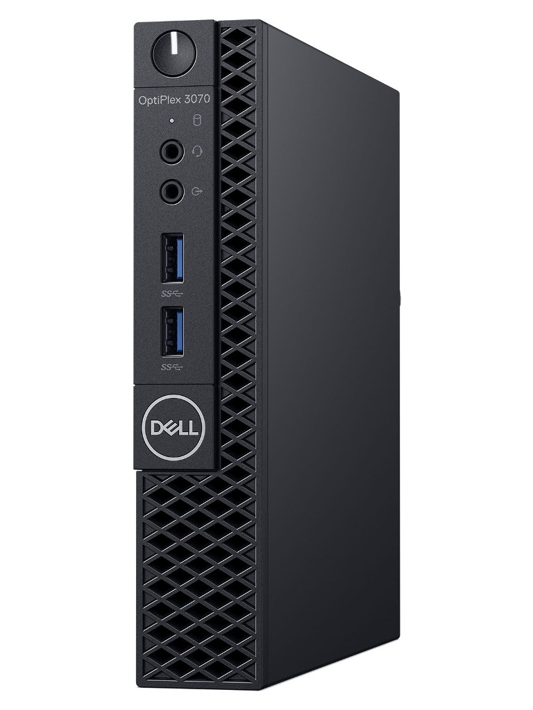 Настольный компьютер Dell Optiplex 3070 3070-1922 (Intel Pentium G5420T 3.2GHz/4096Mb/128Gb SSD/Intel HD Graphics/Wi-Fi/Bluetooth/Linux Ubuntu)