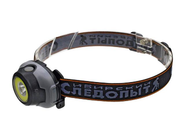 Фонарь Следопыт Сибирский Люмен 1 LED + COB PF-PFL-HL33