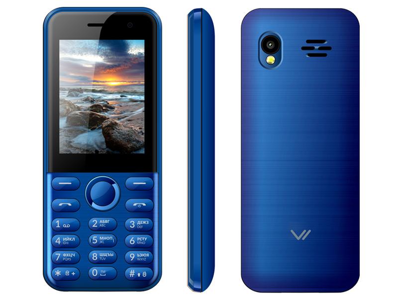 Сотовый телефон Vertex D567 Blue мобильный телефон vertex m111 blue grey