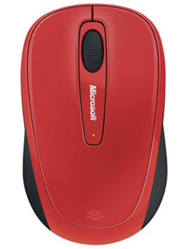Мышь Microsoft 3500 Red-Black GMF-00293