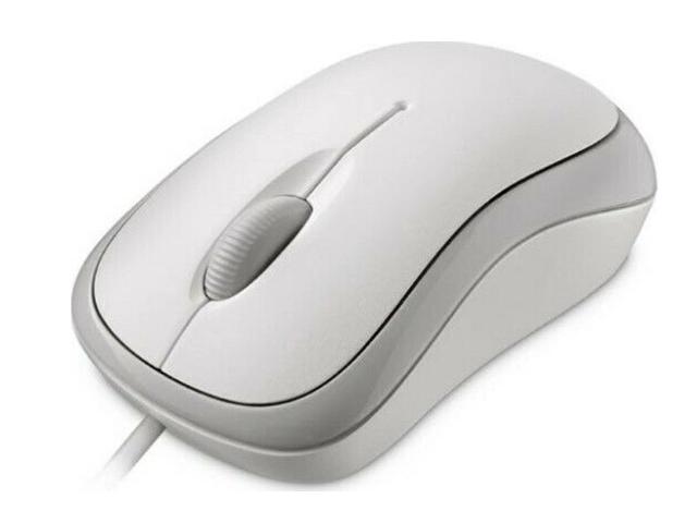 Мышь Microsoft Basic White 4YH-00008