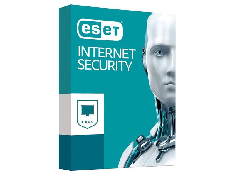 Программное обеспечение ESET NOD32 Internet Security продление 1 год на ПК BOX