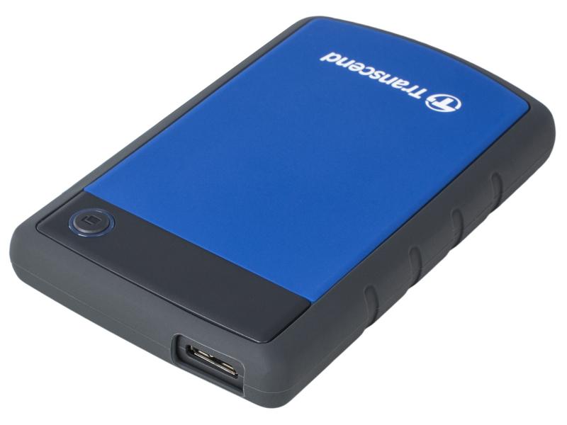Фото - Жесткий диск Transcend StoreJet 25H3P 4 ТБ Blue жесткий диск transcend 128gb ts128gssd370s