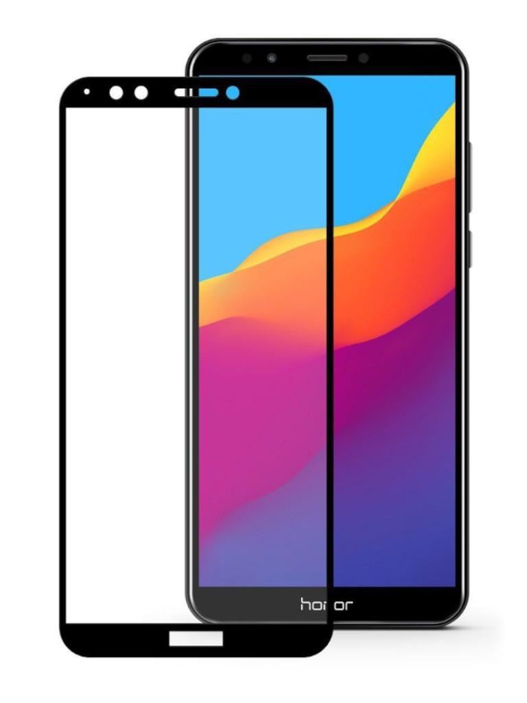 Защитный экран Red Line для Honor 7S 2020 Full Screen 3D Tempered Glass Glue Black УТ000020157