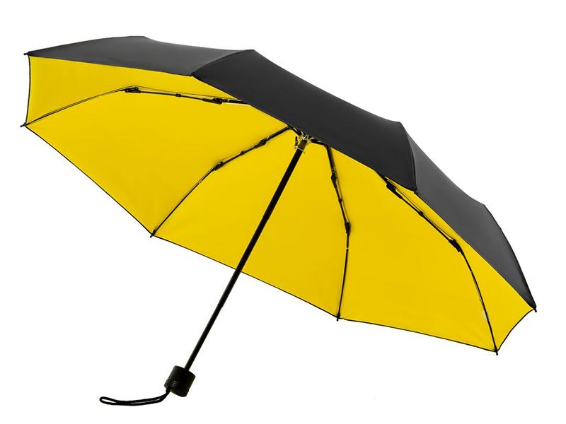 Зонт Molti Sunbrella с защитой от УФ-лучей Yellow-Black 10993.80