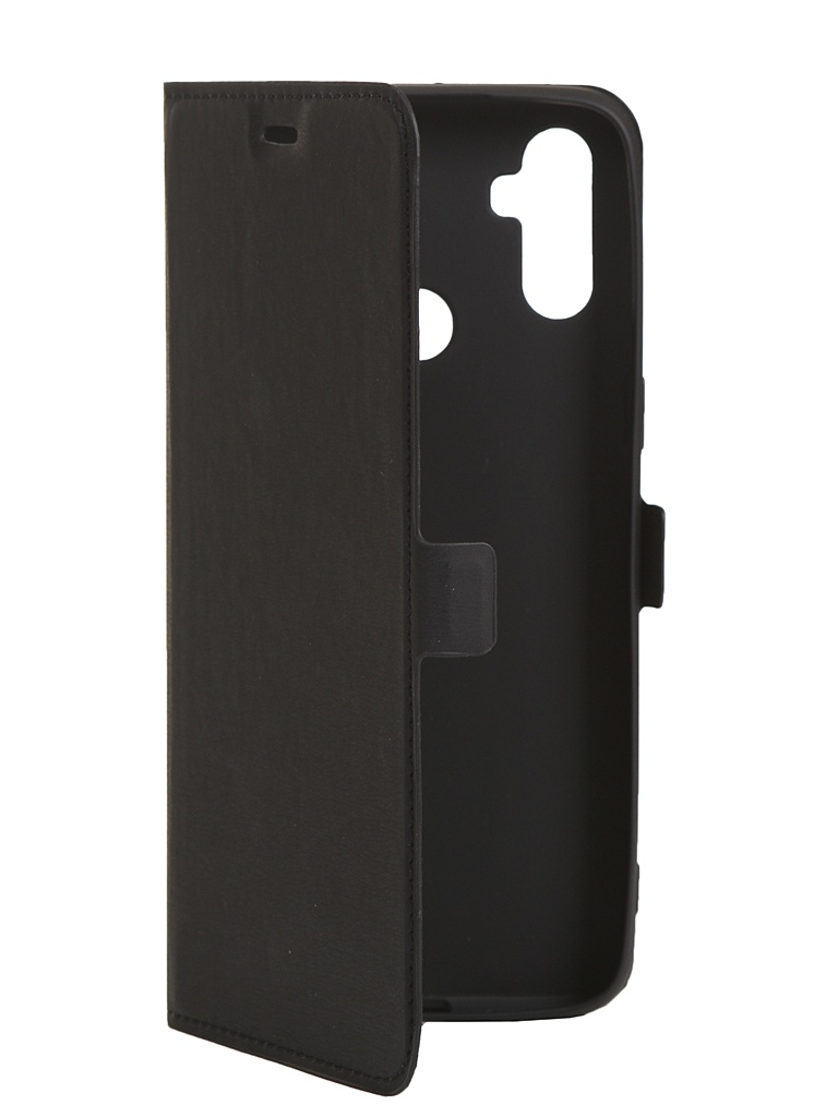 Чехол DF для Realme C3 rmFlip-06 Black