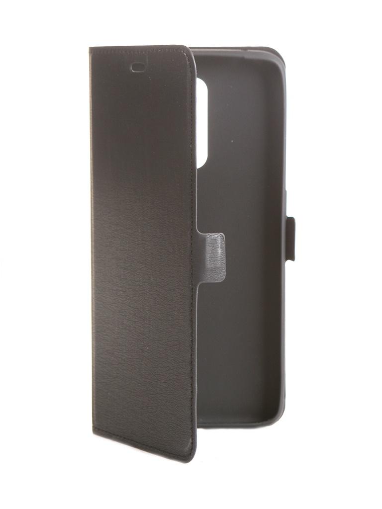 Чехол DF для Realme X2 Pro rmFlip-05 Black
