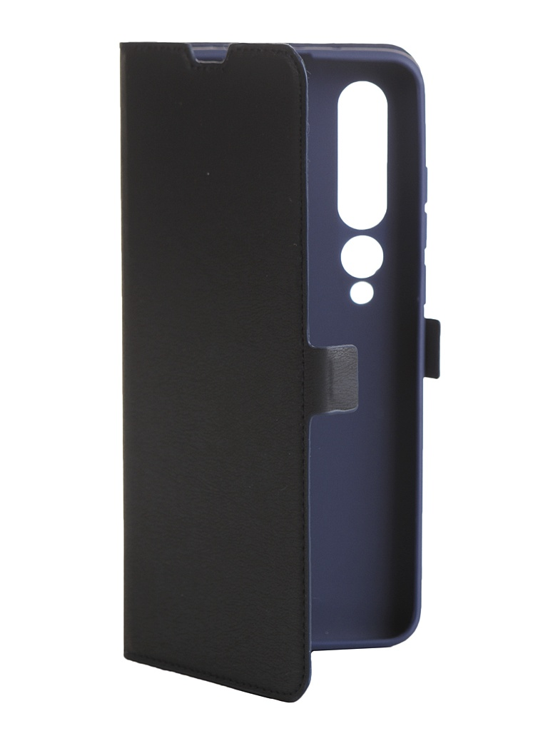 Чехол DF для Xiaomi Mi 10 Pro xiFlip-57 Blue