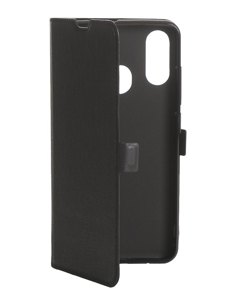 Чехол DF для ZTE Blade V10 Vita zFlip-05 Black аксессуар чехол zte blade a515 aksberry black