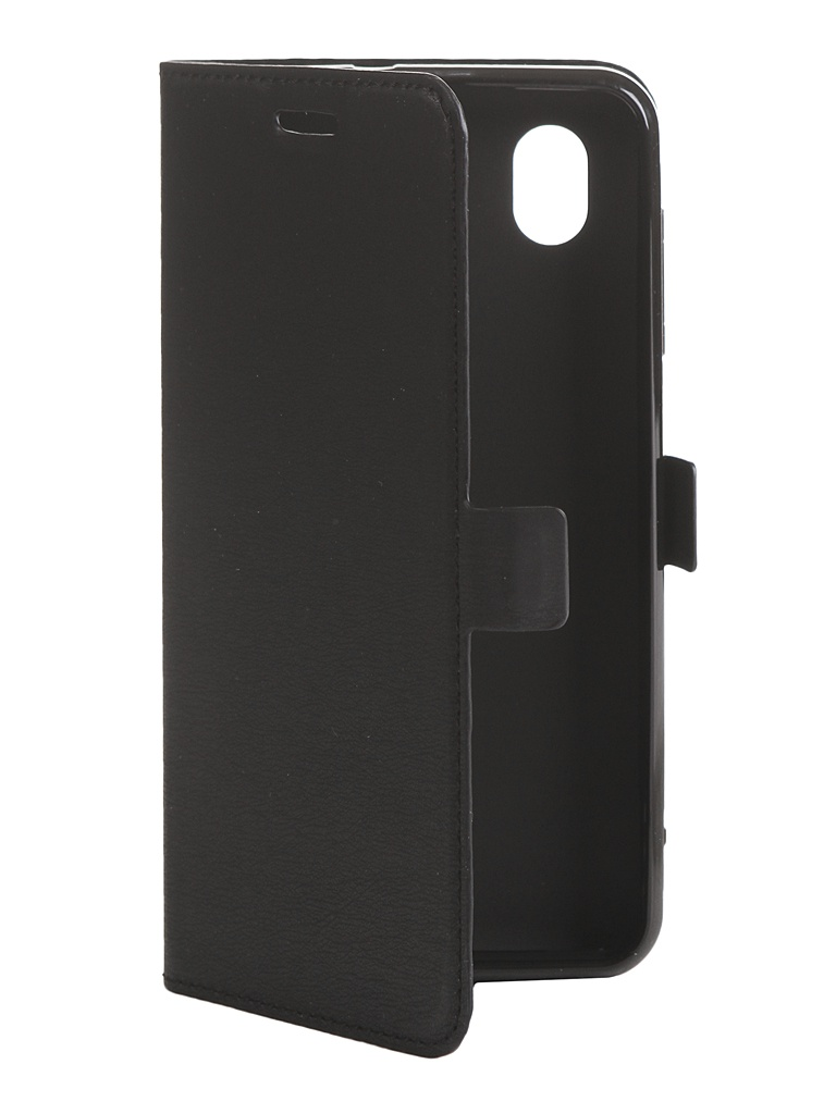 Чехол DF для ZTE Blade L8 zFlip-03 Black аксессуар чехол zte blade a515 aksberry black