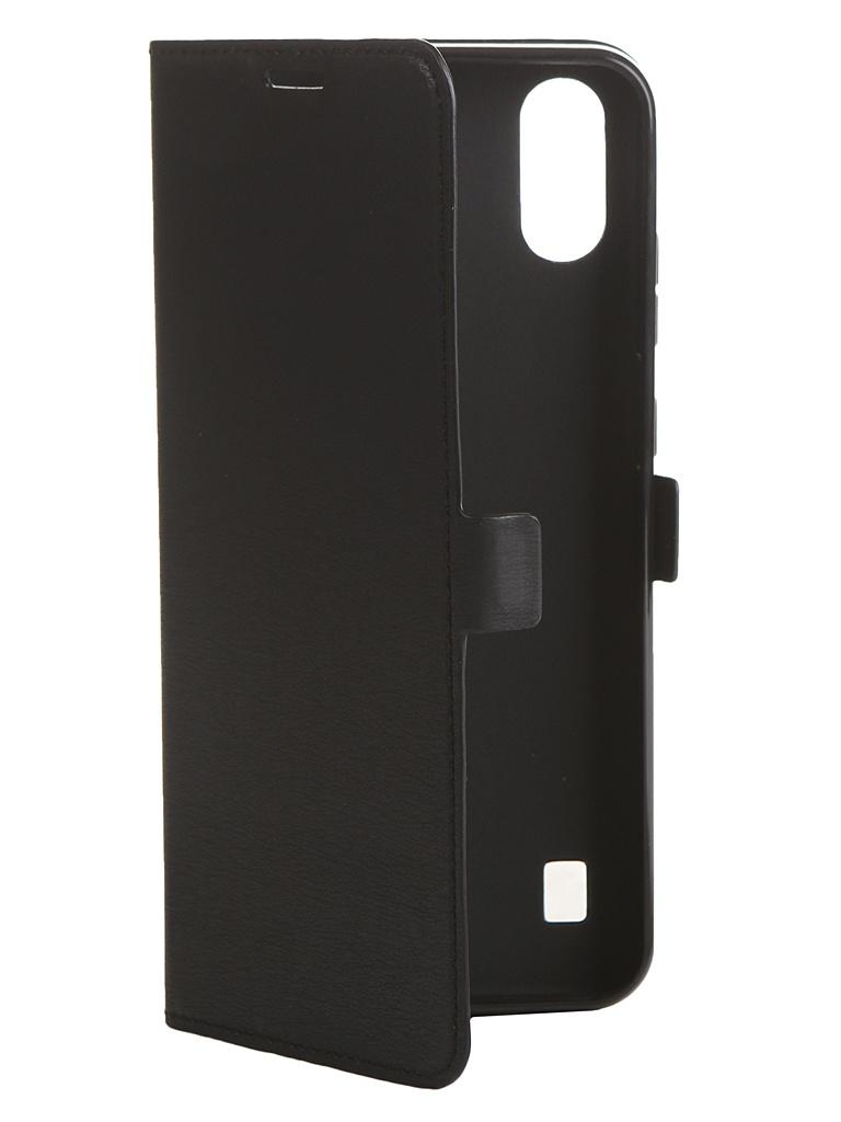 Чехол DF для ZTE Blade A5 2020 zFlip-01 Black аксессуар чехол zte blade a515 aksberry black