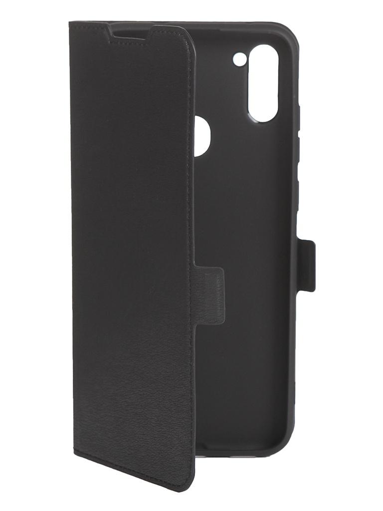 Чехол DF для Samsung Galaxy A11 sFlip-64 Black чехол df для samsung galaxy m11 black sflip 66