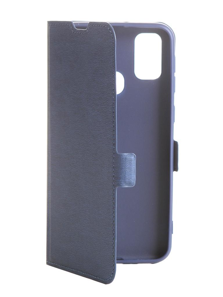 Чехол DF для Samsung Galaxy M30s sFlip-63 Blue