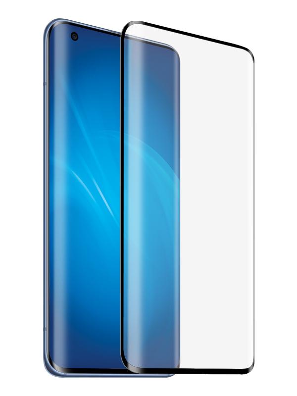 Закаленное стекло DF для Xiaomi Mi 10/Mi 10 Pro 3D Full Screen xiColor-76 Black Frame