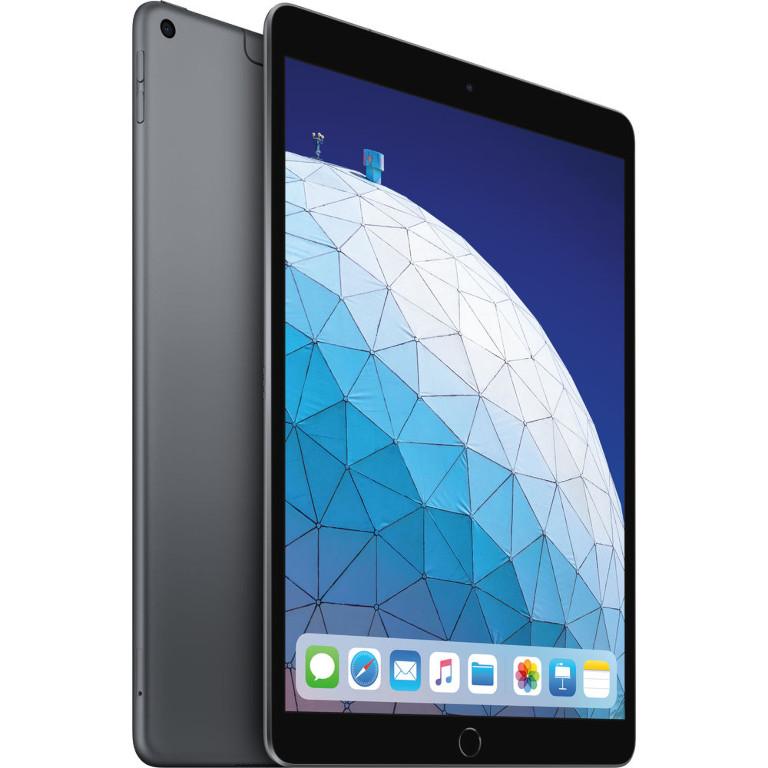Планшет APPLE iPadAir 10.5 (2019) 256Gb Wi-Fi + Cellular Space Grey MV0N2RU/A Выгодный набор серт. 200Р!!!