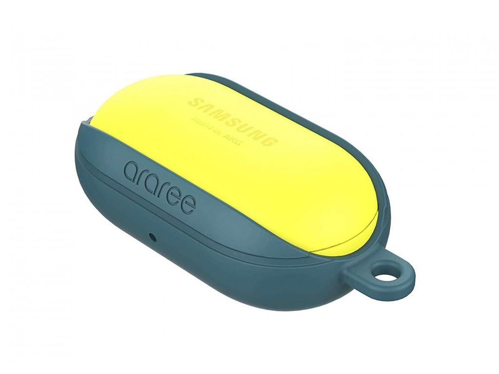 Чехол Araree для Galaxy Buds Bean Silicone Forest Blue GP-R170KDFPBRC