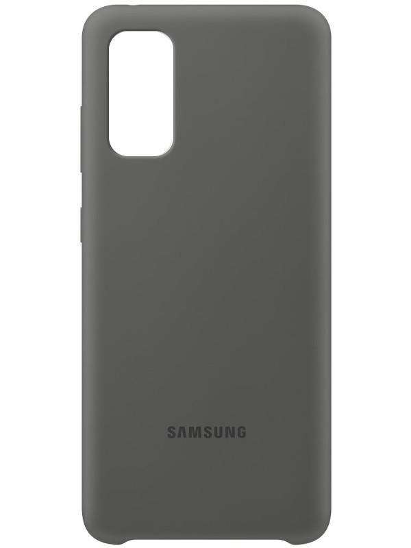 Фото - Чехол для Samsung G980 Galaxy S20 Silicone Cover Grey EF-PG980TJEGRU чехол для samsung galaxy s20 plus silicone cover black ef pg985tbegru