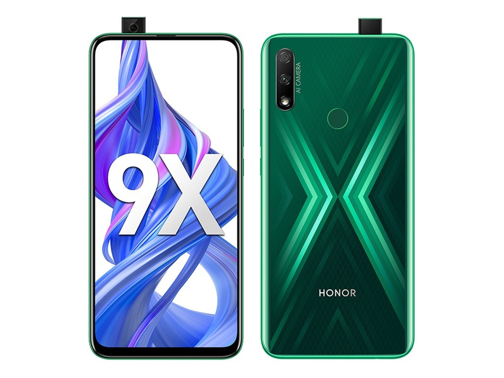 Сотовый телефон Honor 9X 4/128Gb Emerald Green Выгодный набор + серт. 200Р!!!