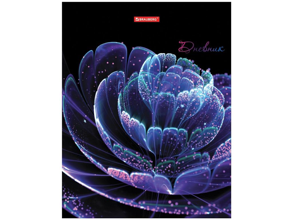 Дневник школьный для 5-11 класса Brauberg Небесный цветок 48 листов 105602