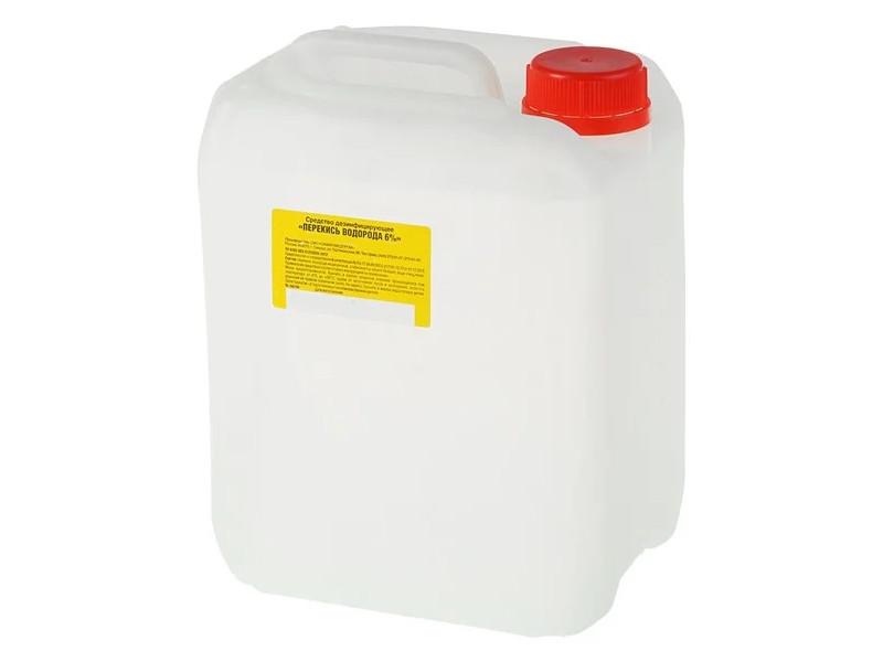 Медицинская перекись водорода ПВМ 6% 5L (6/5)