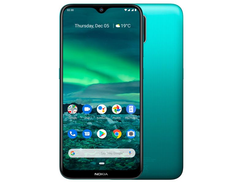 Сотовый телефон Nokia 2.3 (TA-1206) 32Gb Cyan Green Выгодный набор + серт. 200Р!!!