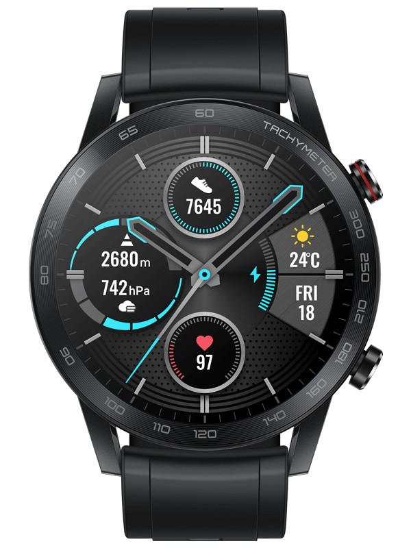 Умные часы Honor Watch Magic 2 46mm MNS-B19S Black 55024945 Выгодный набор + серт. 200Р!!!