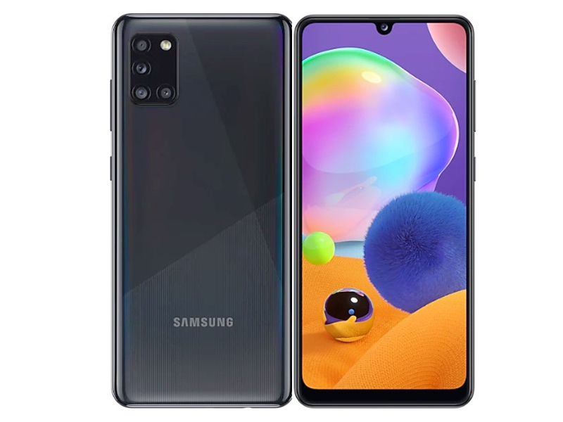 Сотовый телефон Samsung Galaxy A31 64GB Black смартфон samsung galaxy s8 sm g950f 64gb жёлтый топаз