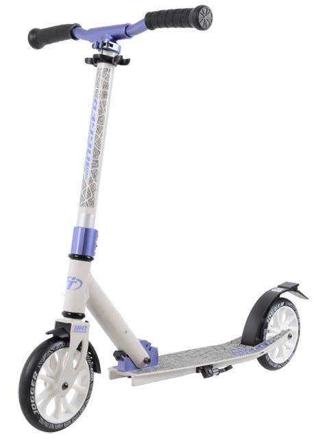 Самокат Tech Team TT 180 Jogger 2020 White-Purple