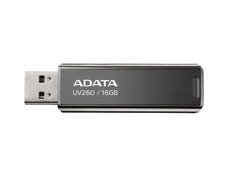 USB Flash Drive 16Gb - A-Data UV260 Black AUV260-16G-RBK usb flash drive 128gb a data uv150 black auv150 128g rbk