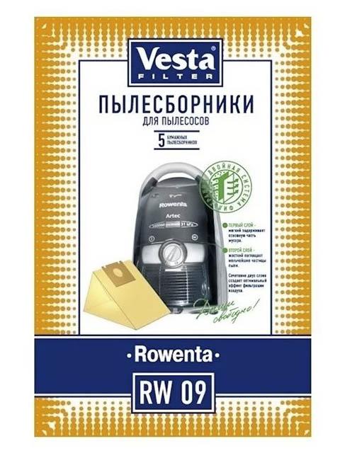 Мешки для пылесосов Vesta Filter RW 09